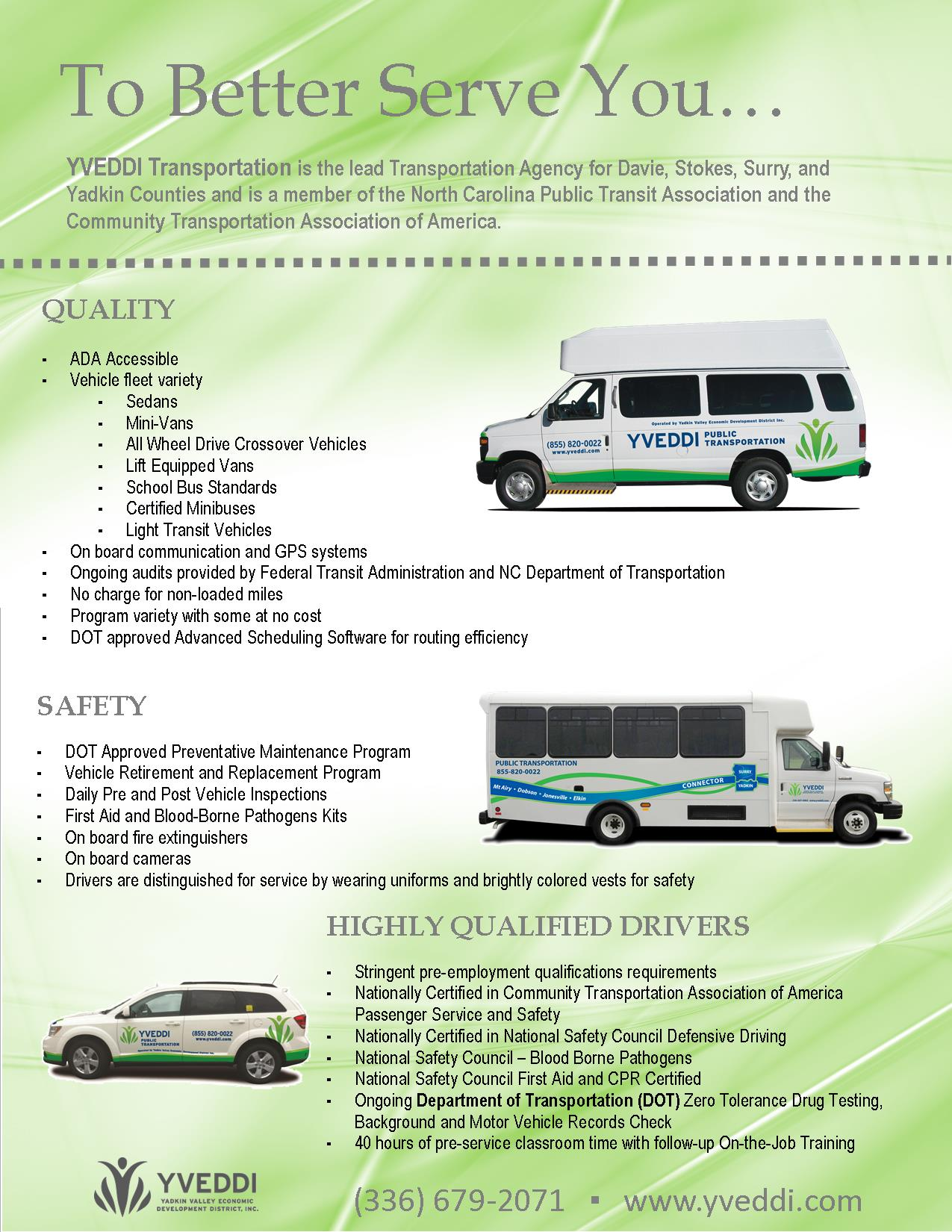 Elderly transportation business plan